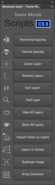 Photoshop Timer Panel