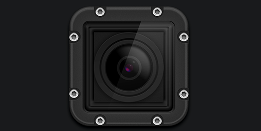 GoPro - Hero3 camera icon PSD